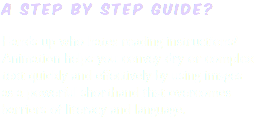 a step by step guide? Hands up who hates reading instructions? Animation helps you convey dry or complex text quickly and effectively by using images as a powerful shorthand that overcomes barriers of literacy and language.